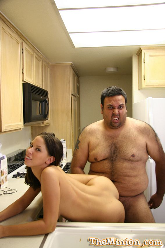 Fat guy dating hot girl